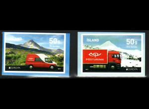 Island: 2013, Europa-Cept (Postfahrzeuge)