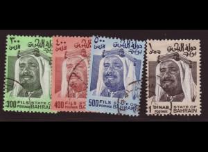 Bahrain: 1976, Freimarken Scheich