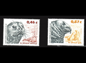 St. Pierre und Miquelon: 2002, Robben