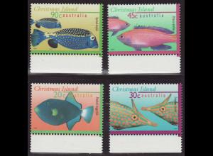 Weihnachtsinseln: 1996, Freimarken Fische