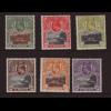 St. Helena: 1903, König Eduard VII. und Landschaft (Ausgabe komplett, teilweise können die Falze schöner sein, M€ 150,-)