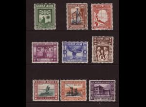 Sierra Leone: 1933, Abschaffung der Sklaverei (Kurzsatz bis 1 Sh.)