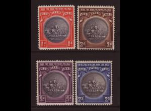 Bahamas: 1930, Wappen (ohne Höchstwert 3 Sh., Motiv Segelschiff)