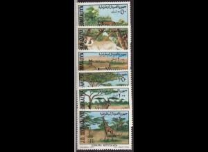 Somalia: 1977, Naturschutz (Säugetiere)