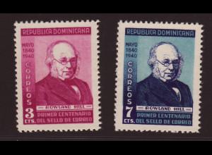 Dominikanische Republik: 1940, Rowland Hill (postfrisch, Katalogbewertung ist für Falz)