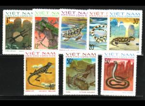 Vietnam: 1975, Reptilien