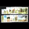 Nevis: 1981, Freimarken Landschaften (ohne Jahreszahl)