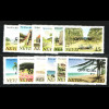 Nevis: 1981, Dienstmarken Landschaften