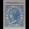 Belize (Britisch-Honduras): 1865, Königin Victoria 1 P. (ohne WZ)
