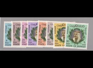 Kuwait: 1966, Freimarken Scheich Abdullah as-Salim