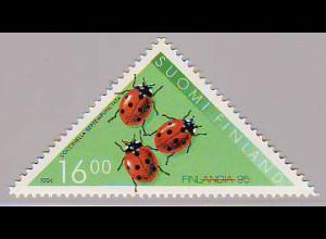 Finnland: 1994, Dreiecksmarke Marienkäfer