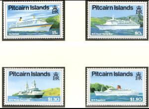 Pitcairn: 1991, Kreuzfahrtschiffe