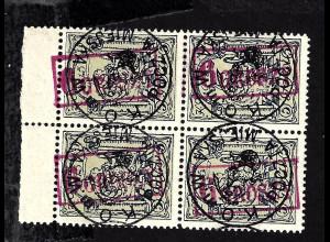 Dt. Post in Polen: 1915, Stadtpost Warschau: 6 Gr. auf 5 Gr gepr. BPP