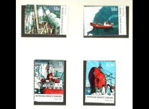 Australische Antarktisgebiete: 2003, Australische Antarktisforschungsschiffe