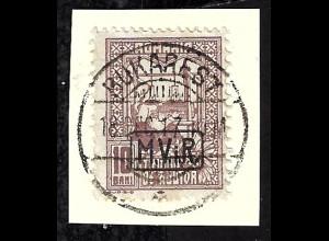 Dt. Post in Rumänien: 1917, Zwangszuschlagsmarken 10 Bani
