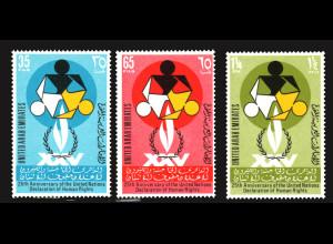 Vereinigte Arabische Emirate: 1973, Erklärung der Menschenrechte
