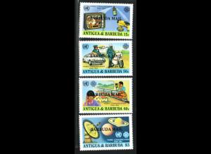 Antigua und Barbuda / Barbuda: 1983, Weltkommunikationsjahr