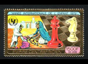 Zentralafrikanische Republik: 1979, Goldausgabe Jahr des Kindes