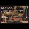 Guyana: 1991, Blockausgabe Japanische Lokomotiven (Einzelstück)