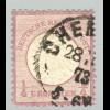 """Gr. Brustschild 1/4 Gr. (R1 """"Chemnitz"""", M€ 130,-)"""