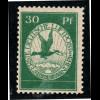 1912, Flugpost am Rhein und Main 30 Pfg. (postfrisch, altsigniert, M€ 130,-)