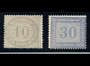 1872, Ziffern, (M€ 215,-)