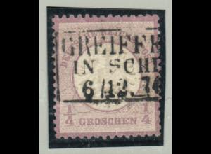 "Gr. Brustschild 1/4 Gr. (Ra3 ""Greiff... in Schl..."", M€ 130,-)"