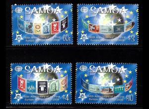 Samoa: 2005, 50 Jahre Europamarken (Motiv Europamarken auf Briefmarken)