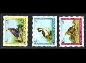 Afghanistan: 1973, Vögel