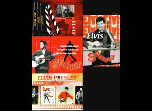 "St. Vincent / Grenadinen (Mayreau): Blocksatz Elvis Presley in ""Spinout"" (4 Blöcke)"