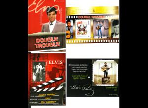 """Nevis: 2011, Blocksatz Elvis Presley in """"Double Trouble"""" (4 Blöcke)"""