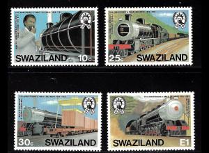Swaziland: 1984, Staatliche Eisenbahn