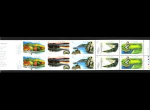 Kanada: 1992, Markenheftchen Wasserstraßen