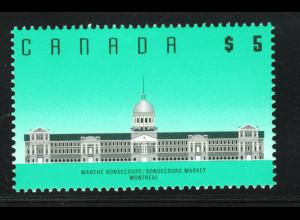 Kanada: 1992, Freimarke Architektur 5 $ (Nachauflage)