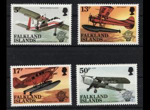 Falklandinseln: 1983, Flugzeuge