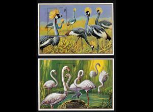 Ruanda: 1975, Blockpaar Wasservögel