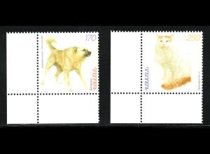 Armenien: 1999, Haustiere (Hund und Katze)