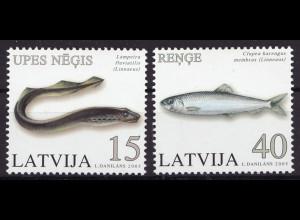 Lettland: 2005, Fische