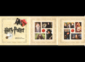 USA: 2013, Harry-Potter-Filme (selbstklebendes Markenheftchen, MH 272)