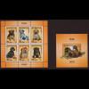 Aserbaidschan: 2010, Blockpaar Hunderassen