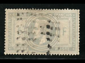 Frankreich: 1869, 5 Fr. Napoleon (mit leichten Einschränkungen, M€ 1000,-)