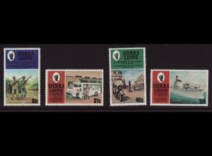 Sierra Leone: 1981, Unabhängigkeit