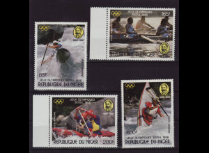 Niger: 1988, Sommerolympiade Seoul (Wassersport)