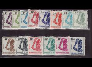 Niger: 1962, Dienstmarken Djermafrau