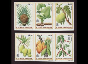 Sao Tomé und Principe: 1981, Welternährungstag (Zdr. ungezähnt)