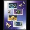 Thailand: 2001, Ausstellungsblockausgabe Juwelen (zur BELGICA)