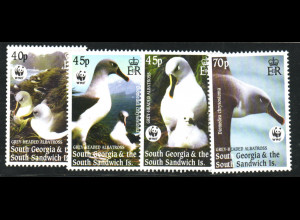 Falklandinseln - Dependencies: 2003, Graukopfalbatros (WWF-Ausgabe)