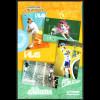 Argentinien: 2008, Blocksatz Sportidole (4 Blöcke im Präsentationsfolder)