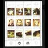 Argentinien: 1983, Kleinbogen Antarktisforscher und Tiere