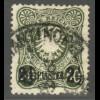 Deutsche Post in der Türkei: 1884, 2½ Piaster (gepr. Steuer BPP, M€ 100,-)
